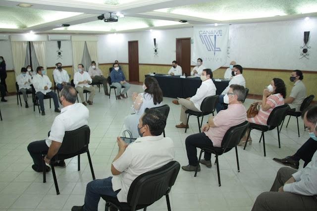 Empresarios de la CANAIVE eligen como su presidente a Jorge Moreno González para el periodo 2021-2022