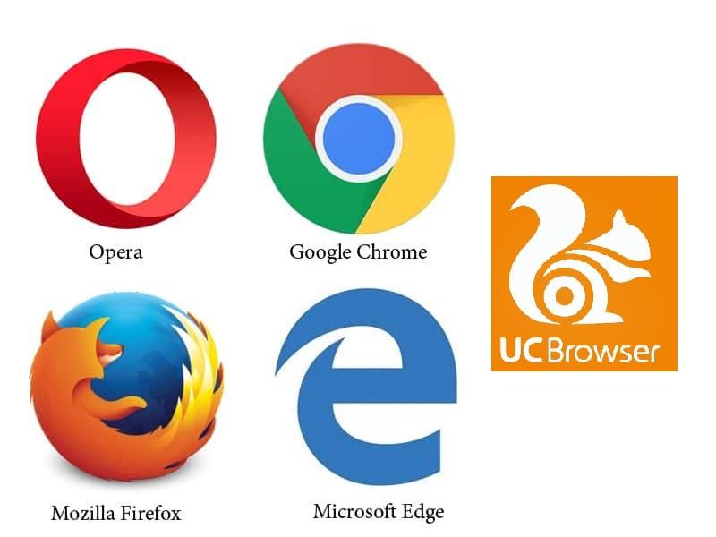 Browser tercepat Google Chrome, Mozilla Firefox, Opera, Microsoft Edge dan UC Browser