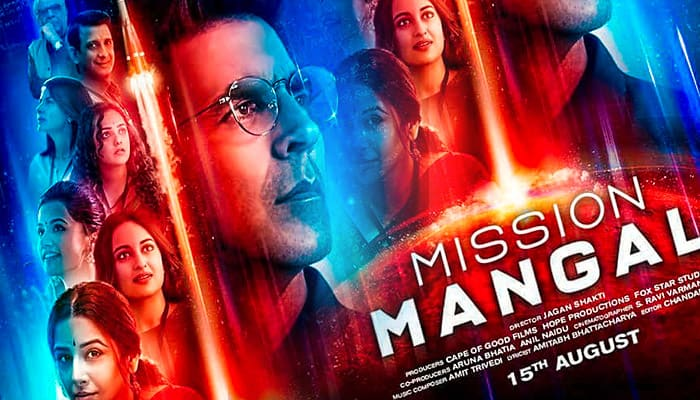 "Movie HD Free Download ""Mission Mangal Movies Poster"""