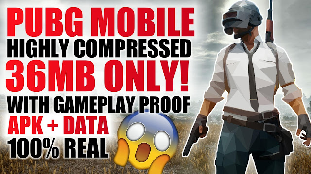 36MB) PUBG Mobile APK+DATA Highly Compressed For All Android