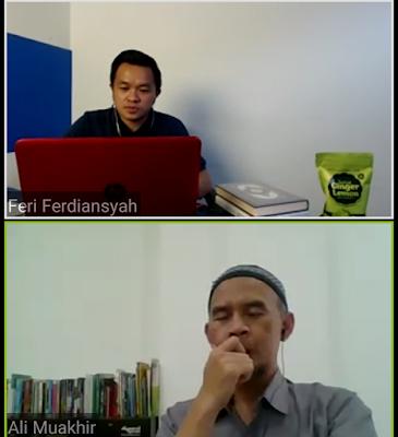 Tips Penulis Ali Muakhir Menghadapi Pandemi
