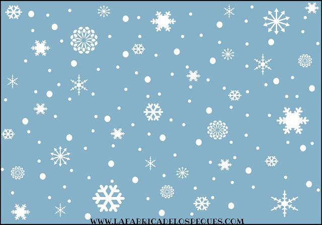imprimibles gratis estampados invierno