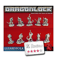 Frugal GM Review: Dragonlock Miniatures from Fat Dragon Games