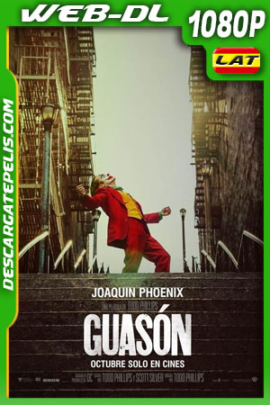 Guasón (2019) 1080p WEB-DL Latino – Ingles