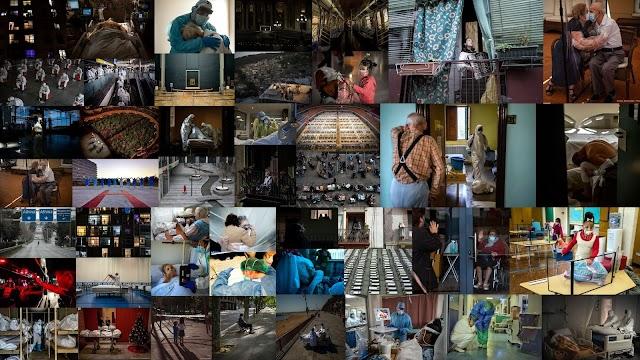 Η πανδημία του 2020 σε εικόνες