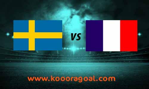 مشاهدة مباراة السويد وفرنسا كورة جول بث مباشر 5-9-2020 دوري الأمم الأوروبية
