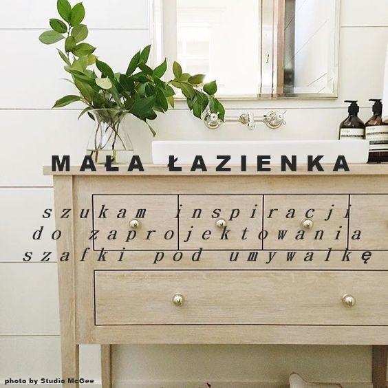 White Grey Pastels Mała łazienka Szukam Inspiracji Do