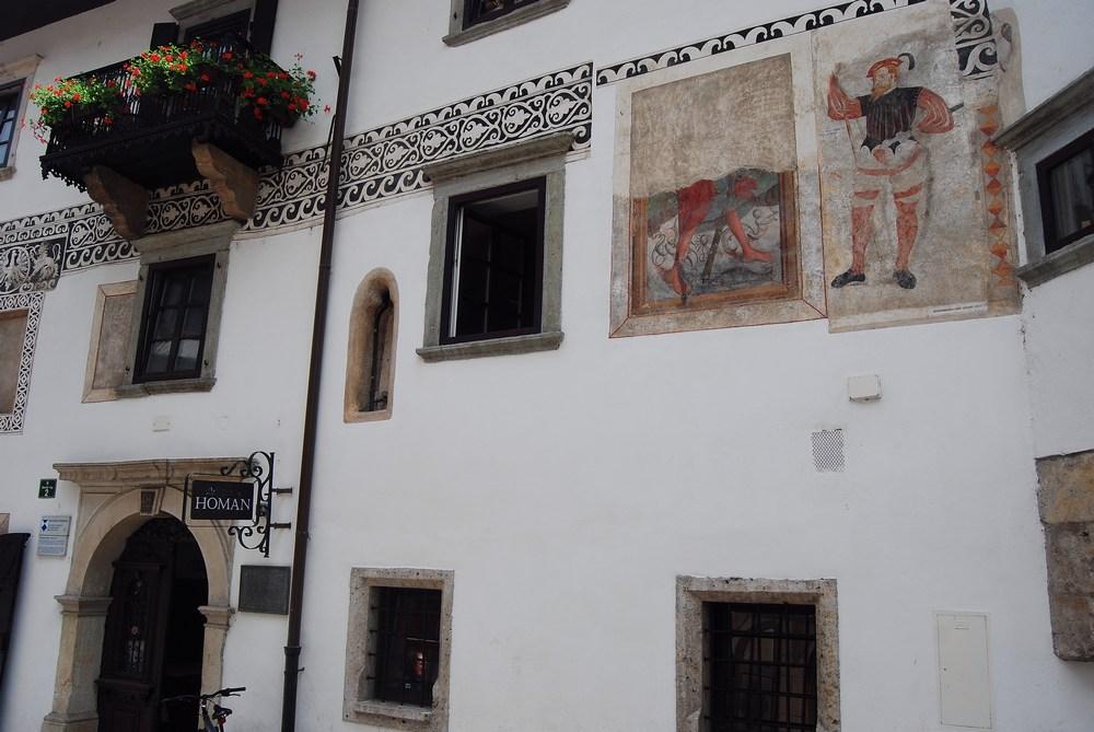 vieille maison de Skofja Loka