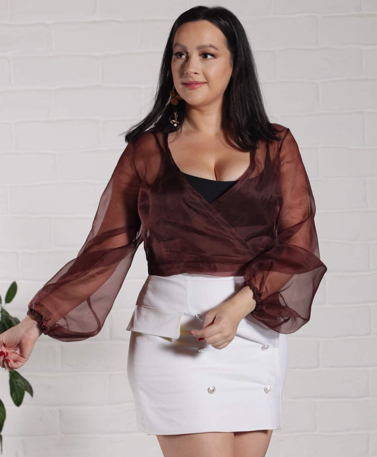 Julia Bobbin - Hannah Dress in Silk Organza - By Hand London
