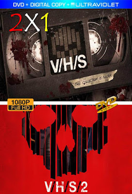 V/H/S Collection 2X1 DVD HD LATINO