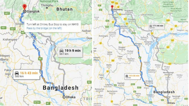 Dhaka starts direct trial bus service to Darjeeling & Gangtok