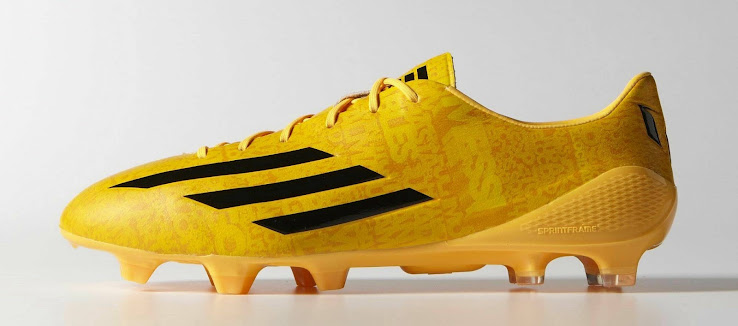 5be632ad8e84 Gold Adidas Adizero Messi 14-15 Boot Released - Footy Headlines