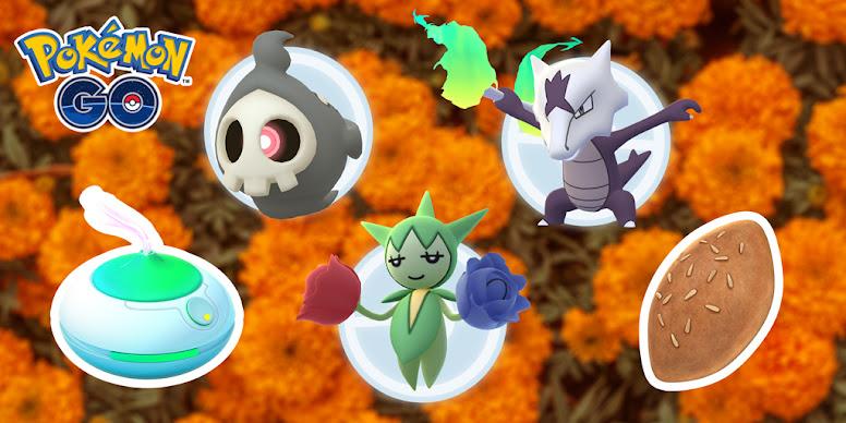 Dia dos Mortos Pokémon GO