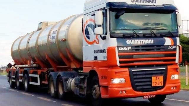 Transportadora Quimitrans abre vagas para Motorista