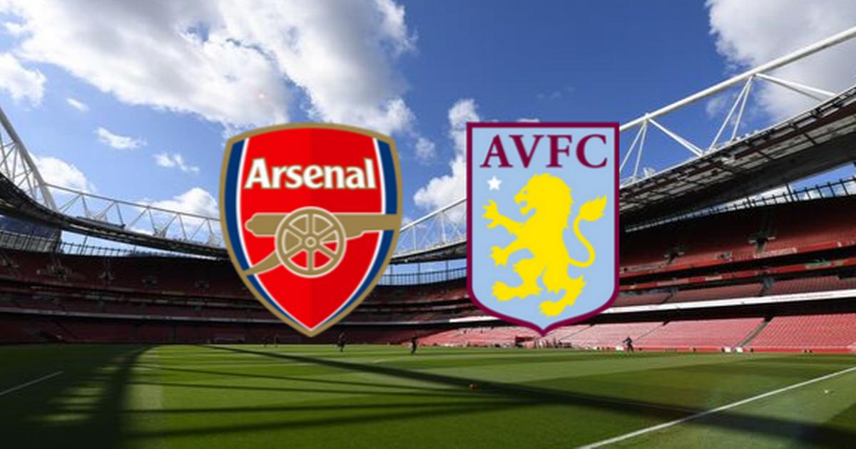 موعد مباراة أرسنال ضد أستون فيلا والقنوات الناقلة في ختام الجولة الثامنة من الدوري الإنجليزي الممتاز