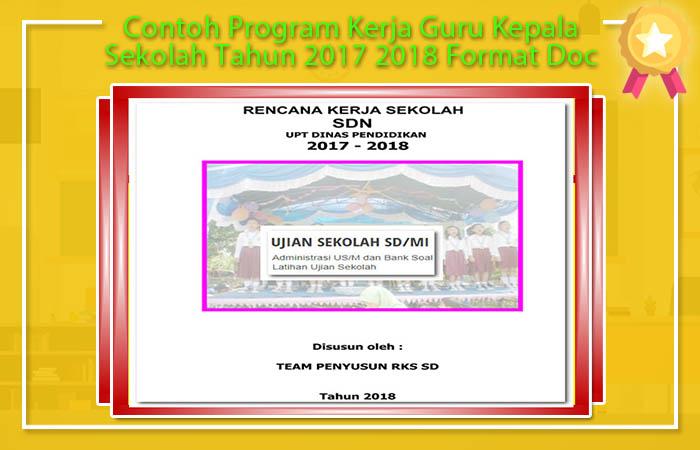 Program Kerja Sekolah