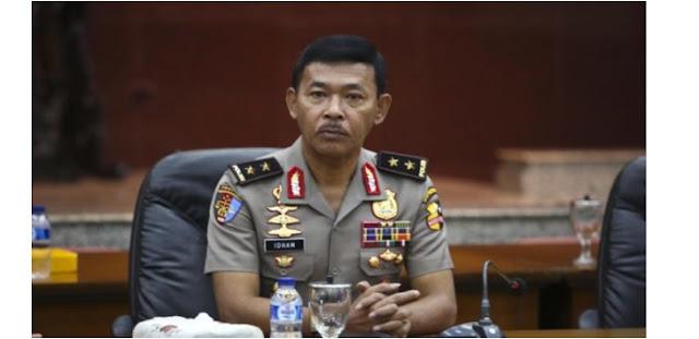 Kapolda Siap Tempeleng Anggota Polisi yang Gunakan Narkoba