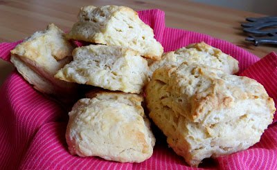 Mile High Greek Yogurt Biscuits