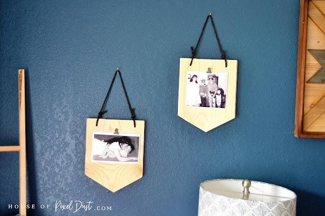 DIY Boho Photo Wall Display (Step By Step Tutorial)