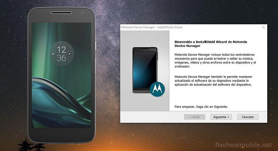 Instalar drivers USB Motorola en Windows paso a paso