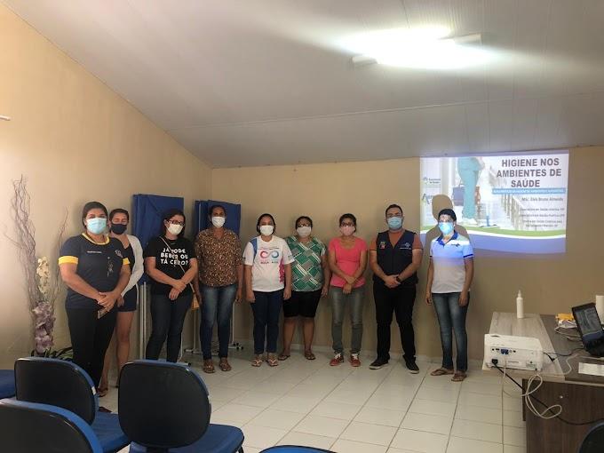 Secretaria de Saúde de Amparo realizou Curso de Higiene para seus funcionários