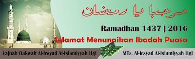Tarhieb Ramadhan 1437 H