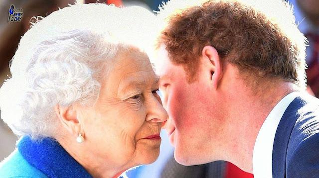 مقطع غير مسبوق للملكة إليزابيث قبل لقاء الأزمة مع هاري