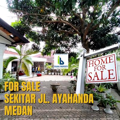 Jual Rumah Luas Tanah 456 m2 lokasi sekitar Jalan Ayahanda Medan