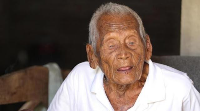 Mbah Gotho manusia tertua di Indonesia