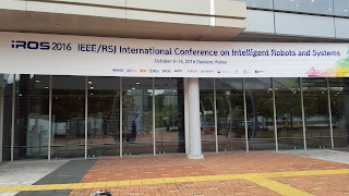 IROS 2016 Welcome banner