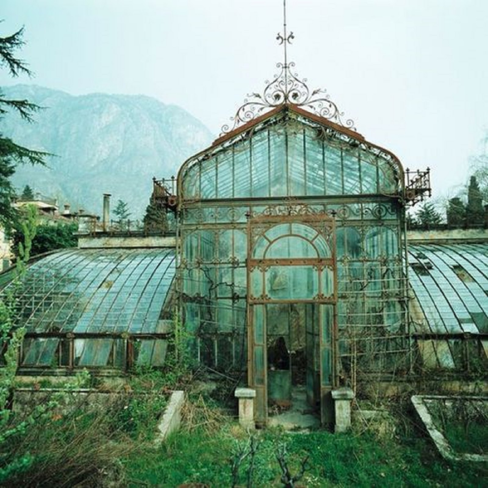 Victorian Glass House Green House