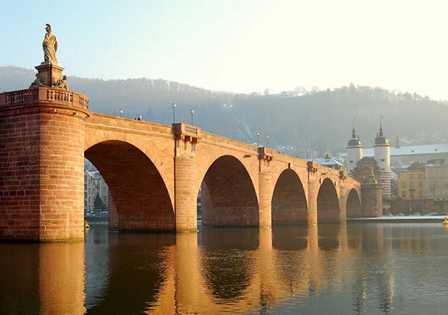 Ponte Velha da cidade de Heidelberg