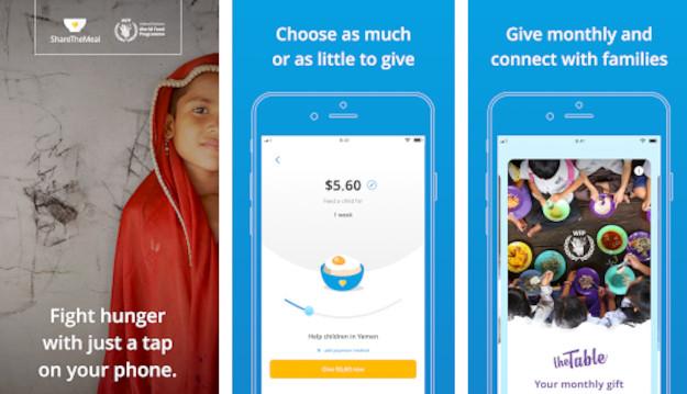 ShareTheMeal: Tο app του OHE για δωρεές που αποσκοπούν στο τέλος της παγκόσμιας πείνας