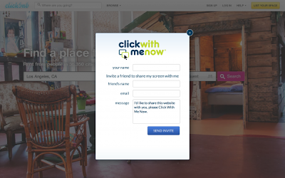 "Meet ""Click With Me Now's"" Websharing Application"