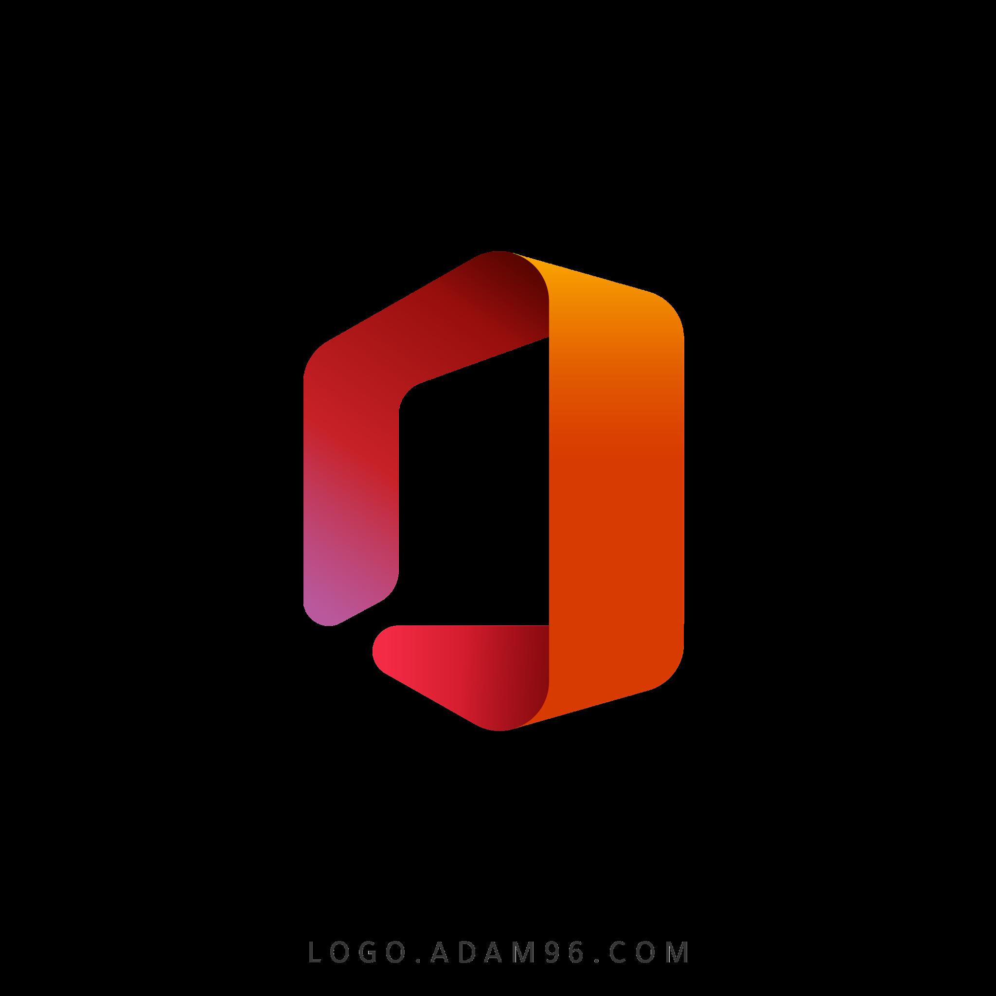 تحميل شعار مايكروسوفت أوفيس لوجو رسمي عالي الدقة بصيغة شفافة Logo Microsoft Office PNG