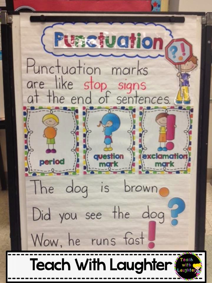 ve posted the accents as  freebie in my tpt store here and hope that you all find it adorable do also teach with laughter punctuation anchor chart rh teachwithlaughterspot
