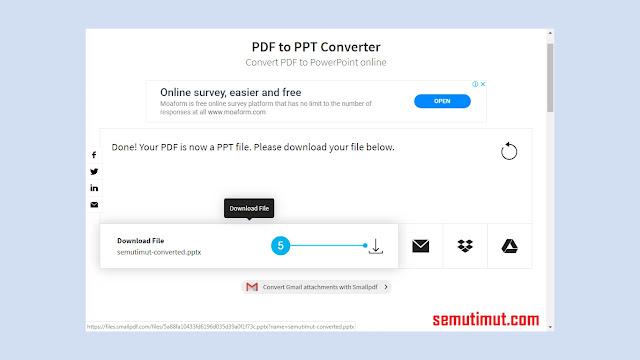 cara mengubah file pdf ke ppt di android