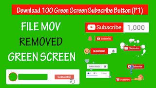 Download Green Screen Subscribe Button (P1)  l Hiệu ứng nền xanh đăng ký Youtube