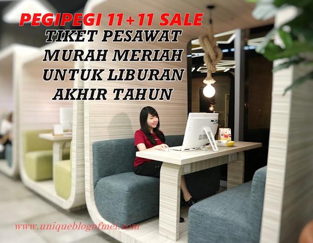 Tiket Murah Meriah PEGIPEGI 11+11 SALE