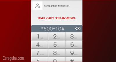 sms gift telkomsel 2021