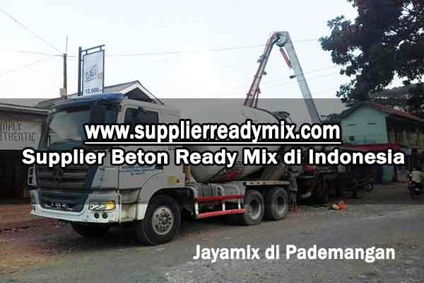 Harga Beton Jayamix Pademangan