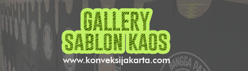 Gallery Kaos Sablon