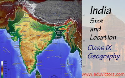 CBSE Class 9 - Geography - India Size and Location - Important Terms You Should Memorize (#cbsenotes)(#eduvictors)