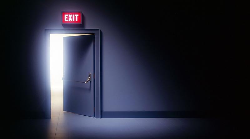 Procurando a porta de saída
