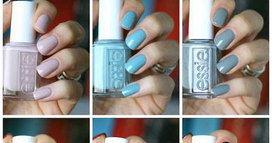 Essie Fall 2016 Kimono Over Collection Swatches Review