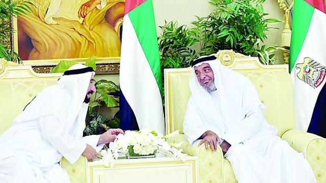 الشيخ خليفة بن زايد يغادر الإمارات دون الإفصاح عن وجهته