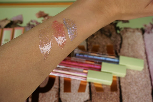 Lip icing swatches review Pixi beauty