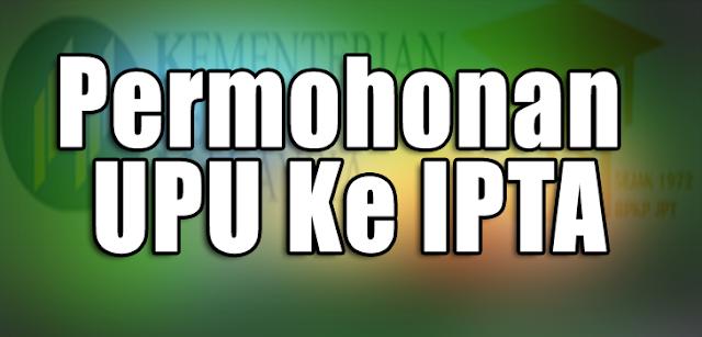 Permohonan-UPU-IPTA