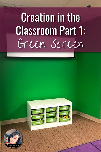 Use Green Screen in the classroom to engage students in elementary and middle school.