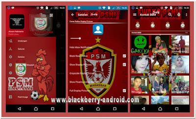 BBM MOD Tema PSM Makassar Terbaru Based 2.12.0.11 APK